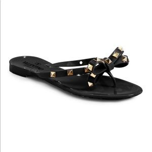 Valentino Rockstud Thong Sandals - New!